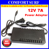 SecurEyes CCTV 12V DC 7A Switch Power Supply With Cable With Heat Release