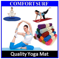 High Quality 6mm Non Slip Yoga Mat for Aerobic GYM Fitness Yoga Exercise 173cm