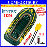 SEAHAWK 3 INTEX 68349 3 Persons Kayak Rescue Fishing Inflatable Boat