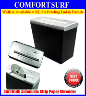 3in1 Multi Functions Automatic Strip Cut Paper Shredder Cut Credit Card & CD Cutter