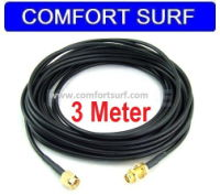 3M RP-SMA Extension Cable for Wi-Fi Antenna / Router