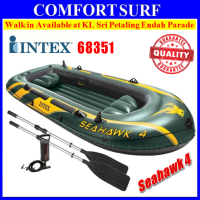 SEAHAWK 4 INTEX 68351 4 Persons Kayak Rescue Fishing Inflatable Boat
