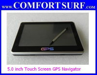 5 inch Touch Screen GPS Navigator Multimedia Player