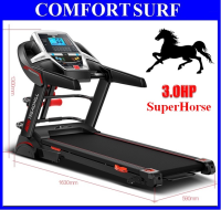 Genuine 3.0HP SuperHorse Single / Multifunction Treadmill AD-A918 Home Fitness Gym Running Walking Equipment