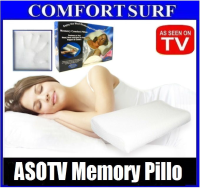 As Seen On Tv Memory Pillo With Washable Zipped Soft Pillow Cover