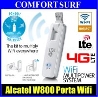 Alcatel W800 4G LTE Porta Wifi USB Stick Broadband Modem Router