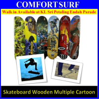 Skateboard Skating Board Multi Cartoon Characters Wooden Eco-Sport