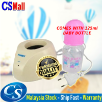 Portable Baby Bottle Warmer Heater with Milk Bottle Single