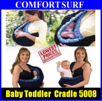 Newborn Baby Sling Toddler Adjustable Feeding Cradle Carrier Stretch Wrap Bag