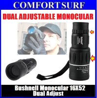 Bushnell 16X52 Monocular Double Adjustable telescope Ultra Clear Day Night