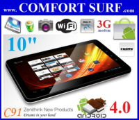 Zenithink C91 1GHz 8GB Android 4.0 ICS Tablet PC - Free Rm125 Gift