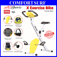 ADSports DDS921 Gym Fitness Exercise X Bike Foldable Sport Equipment Belt Exercise Bicycle Cycle Bike