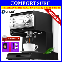20Bar Donlim DL-KF6001 Espresso Italian Coffee Maker Machine + FREE GIFT