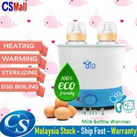 4 in 1 Double Baby Milk Bottle & Foods Warmer With Intelligent thermostat Dual Heat Sterilizer