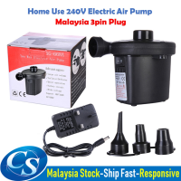 Home Socket Plug Electric Air Pump Inflate Deflate for Air Mattress Sofa Inflatable Air bed Nozzles !!