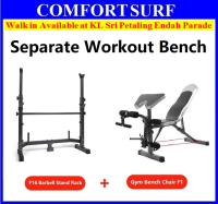 New Latest Multifunction Separated Gym Sit Up Dumbbell FID Bicep Leg Curl Bench Chair with Barbell Stand