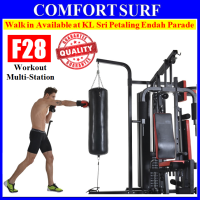 F28 Top 210KG Gym Fitness 3 Stack Multi Station Lats Pull Down Boxing Strength Trainer Exercise