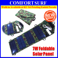 7W Folding Solar Panel 5V USB Travel Camping Portable Battery Charger For Phone?