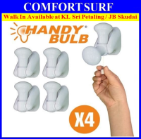 4pcs Pack Insta Handy Bulb Portable LED Cordless Wall Handy Pull Lamp Switch