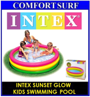 INTEX SUNSET GLOW Inflatable water POOL 58924NP 57412NP 57422NP Kids Swimming Pool