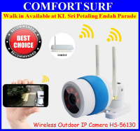 SecurEyes P2P Outdoor Wireless IP Camera + IR Night Vision/MicroSD via Smartphone + Support Motion Alarm Message Onvif