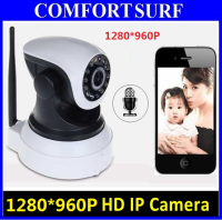 SecurEyes 1280*960P HD P2P Wireless IP Camera Alarm + Night Vision + Call
