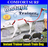 Instant Trainer Leash Trains Dogs Pets Over 30 Lbs Stop Pulling As Seen On Tv Dogwalk