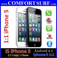 New i5 Smartphone 1:1 copy iphone 5 Android 4.2 with GPS
