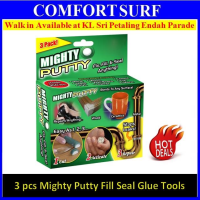 3 pack piece Magic Mighty Putty Fix Fill n Seal Almost Anything
