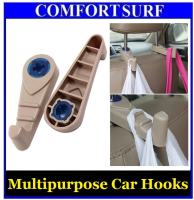2pcs Multipurpose Car Hooks Hold Grocery Bags Vehicle Seat ...