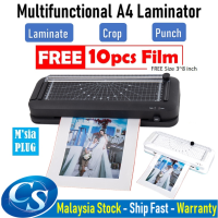 OL188 Multifunctional A4 laminator laminating Machine With Cut And Punch Function For Home Office School