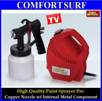 DIY Paint Spayer Pro Professional Electric Spray Gun System with 3 Way Spray Copper Nozzle