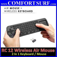 Measy RC12 Wireless Air Fly Mouse / Keyboard Smart for Smart Android TV box