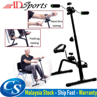 ADSport Rehabilitation bicycle Portable Collapsible Elderly Indoor Fitness Exercise Bike Arm and Leg/ Feet Exercise