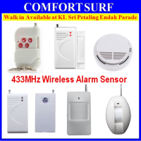 433Mhz Wireless Magnetic / Curtain PIR / Smoke Detector / Remote Control for Wireless Alarm System / Alarm IP Camera