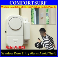 Window Door Entry Wireless Alarm System Detector Protection Security window alarm clock anti theft