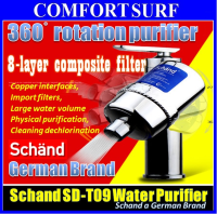Schand 360° Rotation Faucet Water Tap Purifier 8 Layer Water Filter for Kitchen Home Office