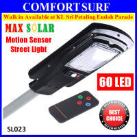 MaxSolar SL023 30W 60pcs LED Solar Powered Street Light Road Lamp Outdoor Yard Flood Garden Spot Lamp lights