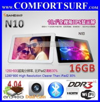 "10.1"" Sanei N10 IPS Screen 1GB RAM 16GB Android 4.0.4 Tablet PC"