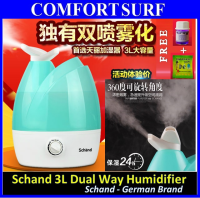 Schand Dual Head 3L Tank Capacity ultrasonic Air Humidifier Purifier Aromatic Therapy