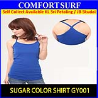 Sugar Color Singlet Shirt Top