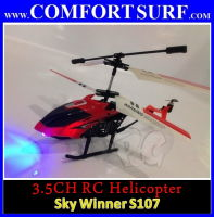 3.5 CHANNEL Skywinner 808 RC Helicopter with LED Light, Build in Gyro, 3D flight, Remote Control