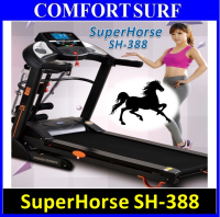 Genuine SuperHorse Multifunction Treadmill SH-388 3.0HP With Electric Incline Decline