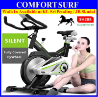 Superhorse SH288 Home Gym Fitness Spinning Bicycle Cycling Exercise Bike With Spring