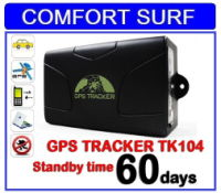Thinpax TK104 Vehicle Car GPS Tracker System (60 Days Standby) /w Engine