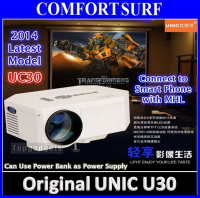 ORIGINAL UNIC UC30 LED Projector 30-100
