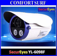 SecurEyes HD 1280 TVL CMOS HD CCD CCTV Bullet Outdoor Camera Night Vision
