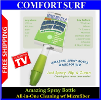 Amazing Spray Bottle-ALL-IN-ONE Cleaning System with True Multi-Surface Cleaning
