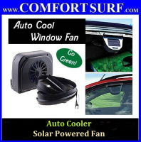 Auto Cooler Solar Powered Fan Ventilation System for Car