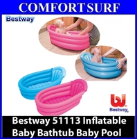 Bestway 51113 Inflatable Baby Bathtub Baby Pool Bath tub
